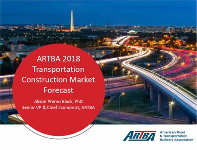 ARTBA predicts transportation construction to reach $255 billion next year