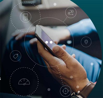 An Allstate tech startup company uses smartphone apps and add-on devices to track and score drivers