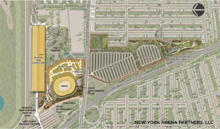 NY Islander has plans for Belmont Park remodeling project