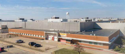 Caterpillar Aurora plant being marketed for sale by Jones Lang LaSalle