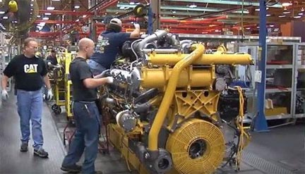 Caterpillar intends to spend $73.6 million to renovate its Lafayette Engine Center