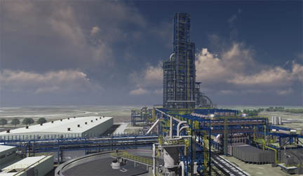 Cleveland-Cliffs broke ground on a new plant that will produce 2.48 million tons of custom hot-briquetted iron (HBI)