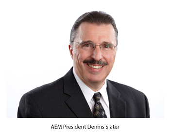 AEM President Dennis Slater said President Trump should drop his proposed tariff on steel and focus instead on infrastructure.