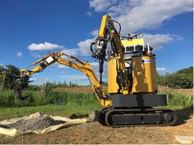Japan Develops Dual-Arm Remote Control Construction Robot