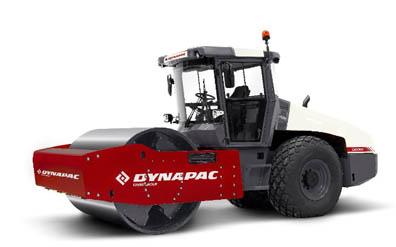 Dynapac CC1100-1200 tandem compactor displays new brand colors