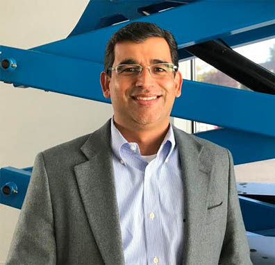 Arjun Mirdha has been appointed Genie Chief Commercial Officer for Terex Aerial Work Platforms.