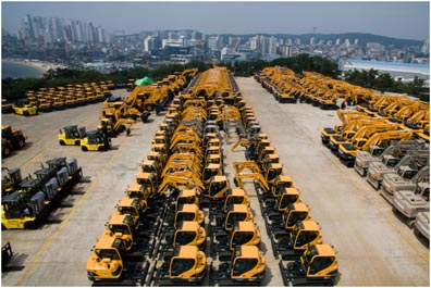 Hyundai expects to build 2,200 mini-excavators for CNH