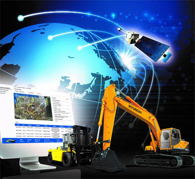 Hyundai Hi-Mate telematics system is now available on four compact excavators