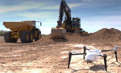 Kespry has developed earthworks aerial intelligence tools with John Deere