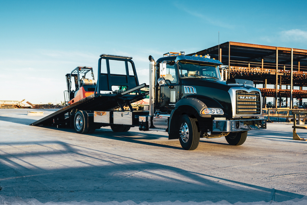 Mack Trucks announced several new enhancements to its Granite MHD model