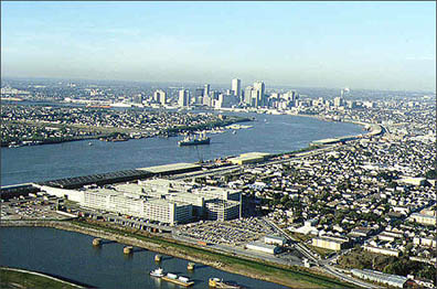 Study says engineering and construction accidentally sank half of New Orleans