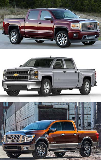 Certain GM and Nissan pickup trucks have been recalled