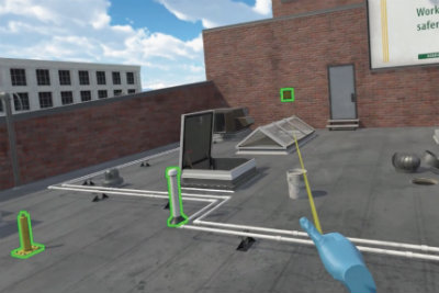 The American Society of Safety Professionals making it safer to learn best practices through a virtual reality application of fall protection training.