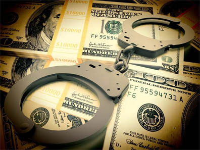 Michael Riglietti will serve five years probation and give back $2.5 million