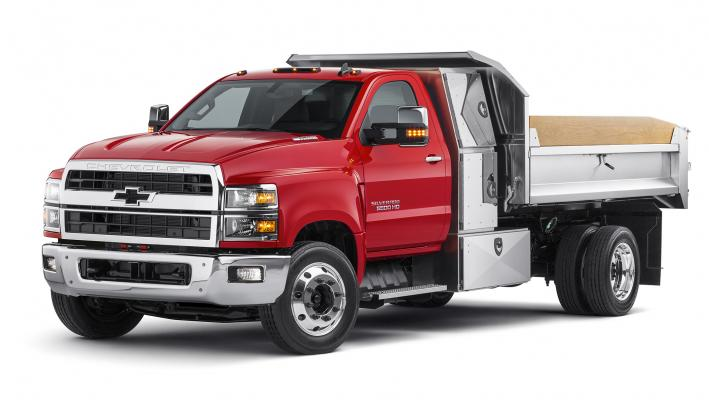 Chevy 6500 HD has a gross vehicle weight rating of 22,900 pounds