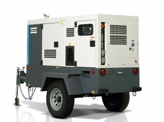 Atlas Copco QAS 70 generator has been redesigned