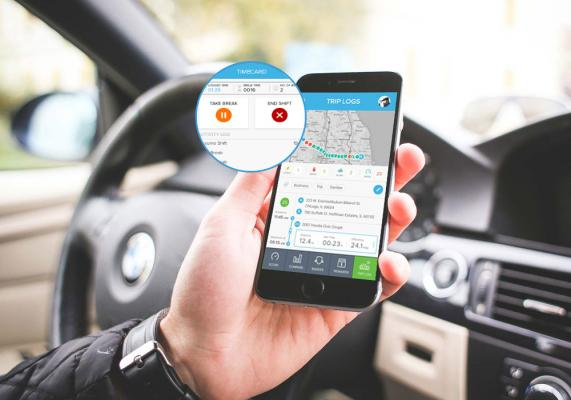The FleetMobile: Standalone Smartphone Edition is a smartphone-based solution for driver behavior monitoring, mobile timecard management, and GPS tracking.