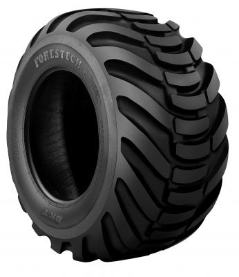 BKT offers four forestry product lines: Forestech; FS 216; TR 678; and F 240.