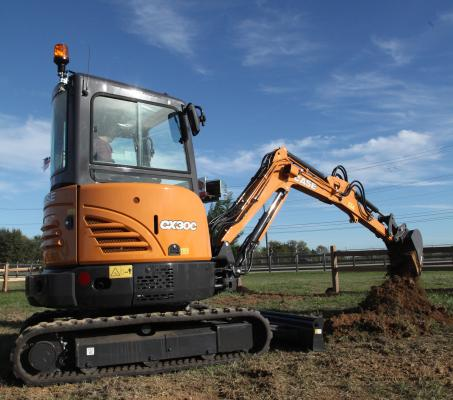 Case CX30C is a new addition to the C Series line of mini excavators