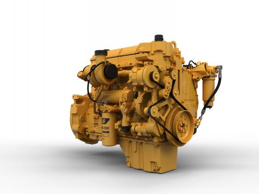 The C13B 12.5L engine is designed to meet Tier 4-F emission standards.