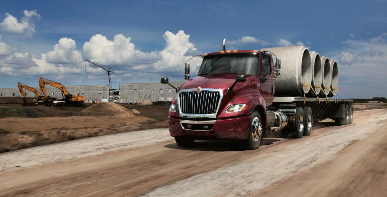 International LT Series Class 8 trucks incorporates operator features uncovered during the company's DriverFirst product design focus.