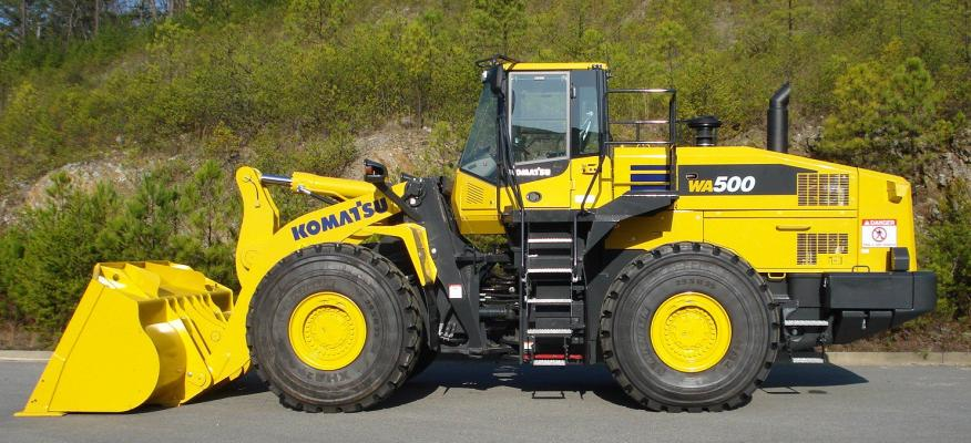 Komatsu Wa500 7 Wheel Loader Construction Equipment