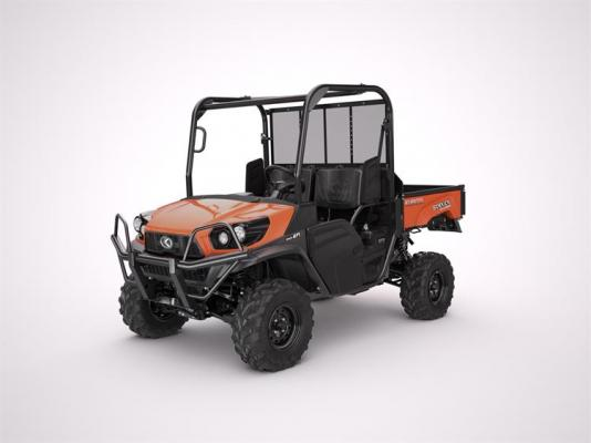 Kubota RTV-XG850 Sidekick compact utility vehicle features a 48-horsepower gasoline engine