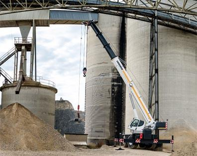 Liebherr has extended its mobile-crane product range with an additional series of rough-terrain cranes