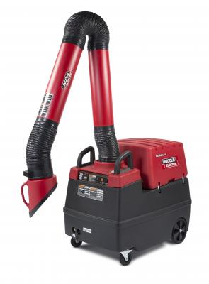 The Mobiflex 400-MS is a self-cleaning welding fume extraction and filtration system designed to extend filter life and reduce maintenance for users.