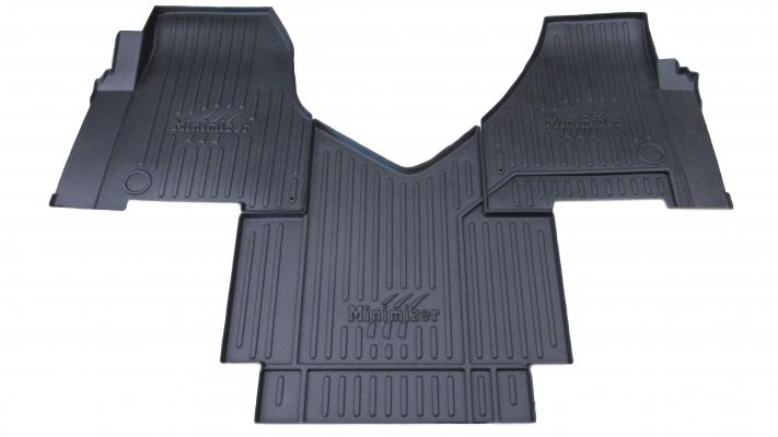 Minimizer has released custom-molded Floor Mats that fit the Freightliner Cascadia 116 and 126.