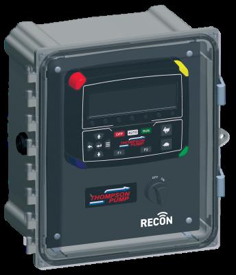 Thompson Pump RECON2000T control panel has enhanced telematics functions