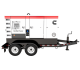 Cummins C100D2RE mobile generator set is a 100-kW unit