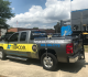 Topcon's Smoothride road scanner attached to the back of a pickup truck.