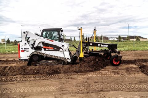 Machine control systems can save time and money when deployed on compact track loaders