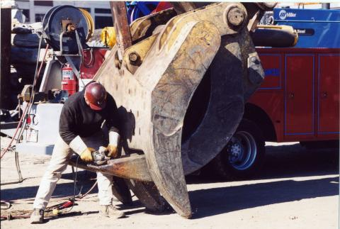 Metal Failure Means Welding to the Rescue | Construction ...