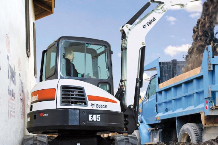 Bobcat E42, E45, E50, E55 Excavators