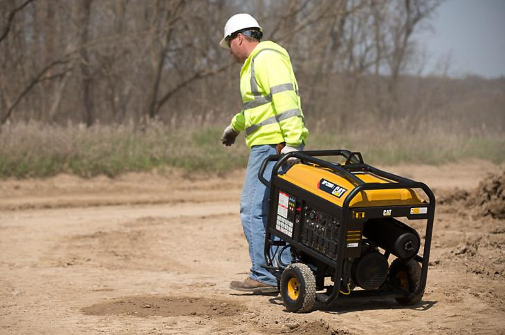 The RP12000E expands Caterpillar's RP Series portable generator line
