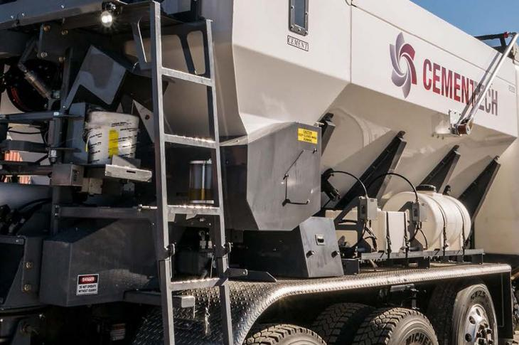 The C60 volumetric concrete mixer includes enhanced ACCU-POUR capabilities and new Automated Gates as a standard option.