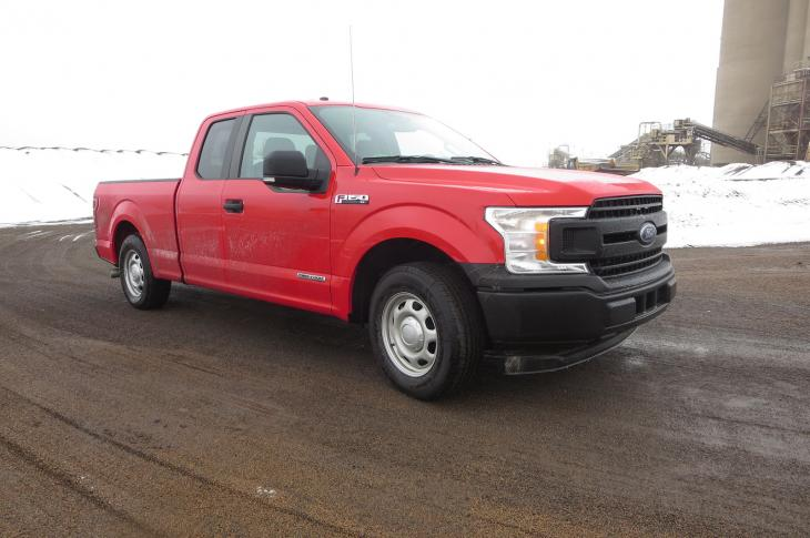 Ford F-150 SuperCab was quiet and comfortable.
