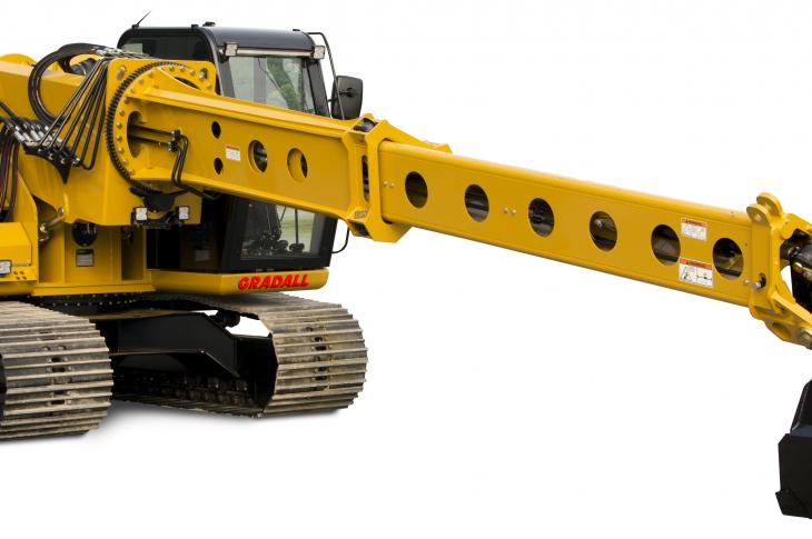 The XL 3200V Lo Pro crawler excavator is designed specifically for working in low-overhead situations