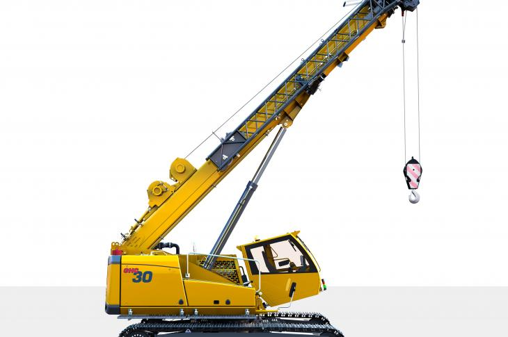 The GHC30 crawler crane expands the Grove Hydraulic Crawler line.