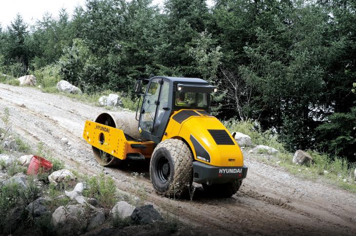 Gradeability is a must for soil compactors