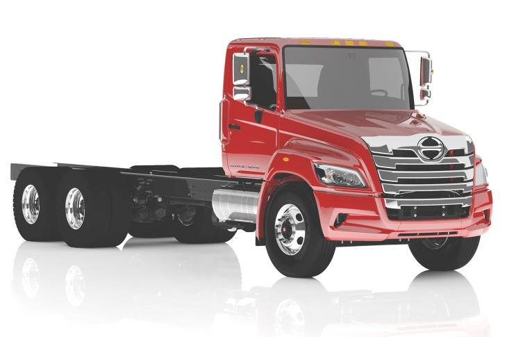 Hino Trucks has extended its conventional cab line into Class 7 and entered Class 8 with a new XL series