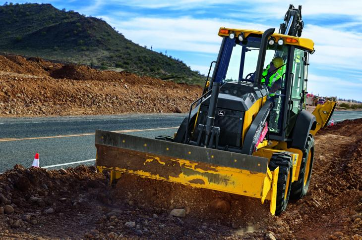 John Deere Updates L Series Backhoe Loaders