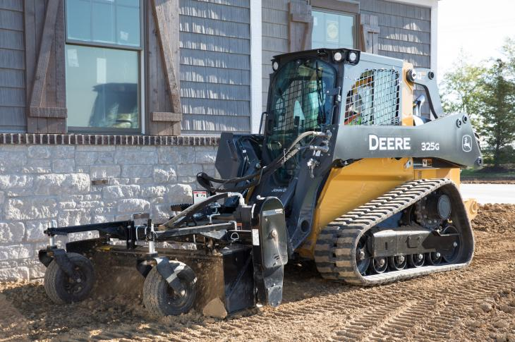The G Series range of compact track loaders expands with mid-frame 325G compact track loader.