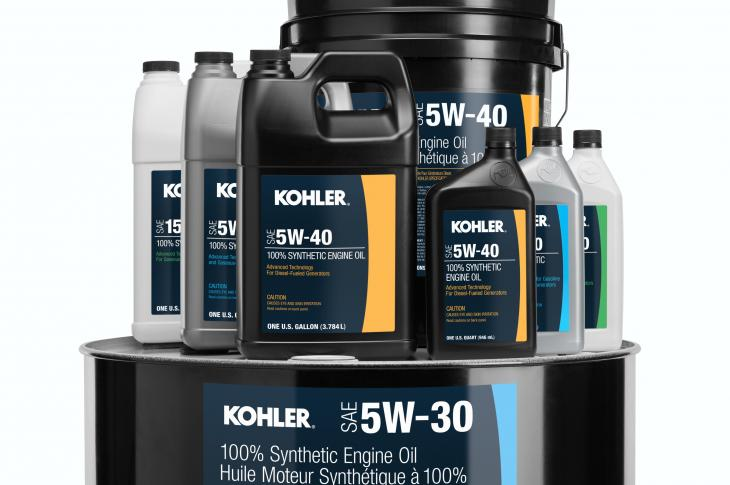 Kohler aftermarket genuine oil is engineered specifically for generator applications.