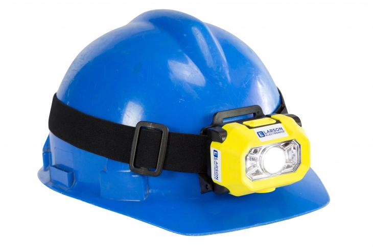 The EXP-LED-HL-404-DFX headlamp is designed as a hand-free lighting solution in hazardous locations.