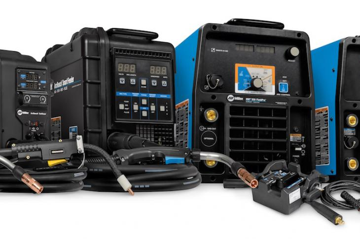 Miller Electric has enhanced its ArcReach technology with two capabilities: 1) provide automatic compensation for voltage drop in the weld cable; and 2) allow welding operators to adjust parameters while welding.