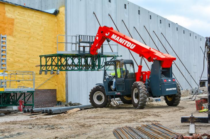 Manitou MTA Easy 74 range of telehandlers includes three models