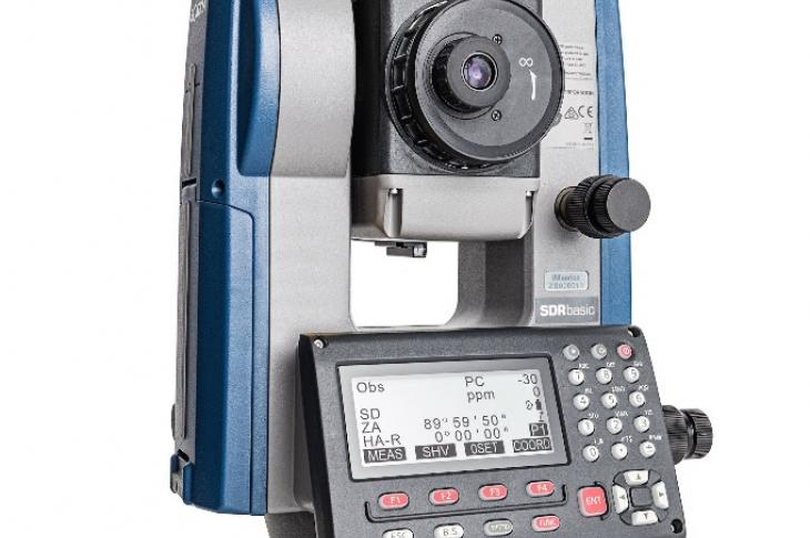 The iM-100 total station is designed to provide advanced integrated communications technology and a powerful EDM.